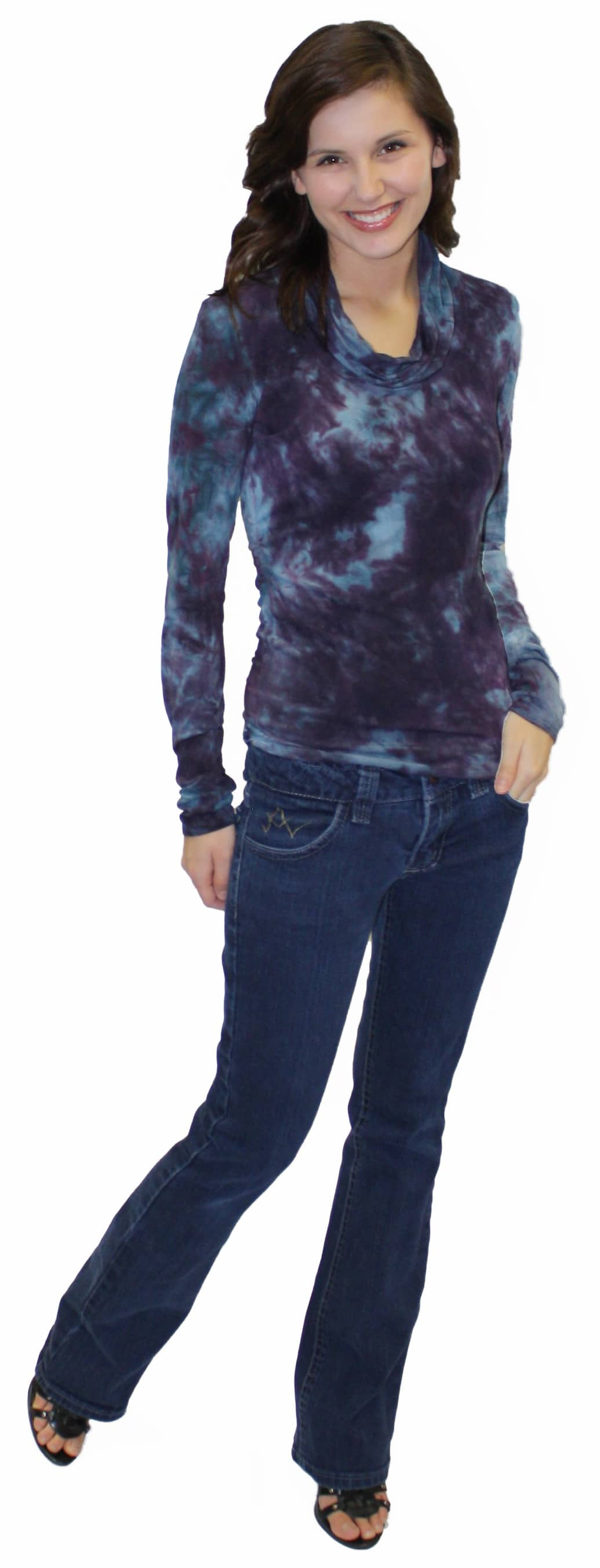Sewing Pattern Alterations – Fitting a Jean Pattern for a Round Stomach