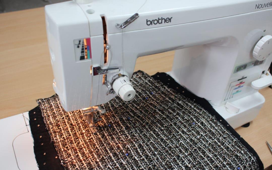 Fringe Skirt Sewalong Part 5: Quilting the Lining