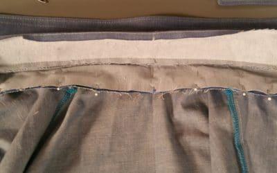 Shirt Dress Sewalong: Attaching the Collar
