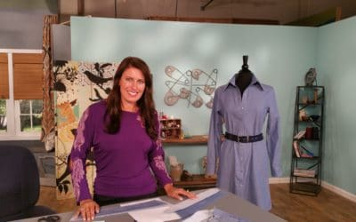 Shirt Dress Sewalong: Sewing the Sleeve Placket