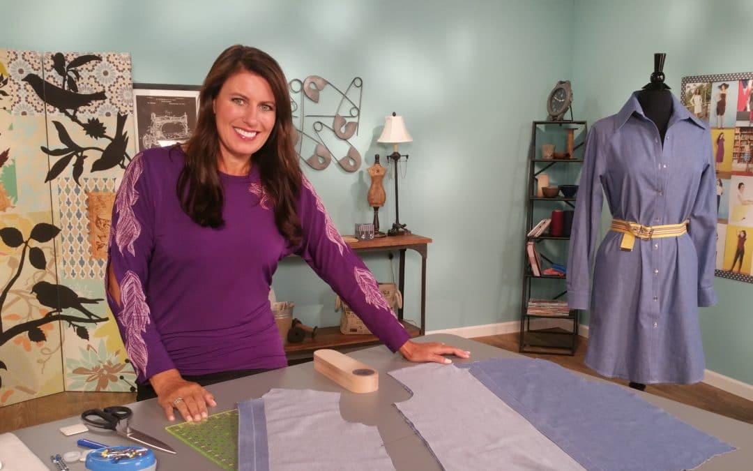 shirtdress sewalong part 2 | Angela Wolf