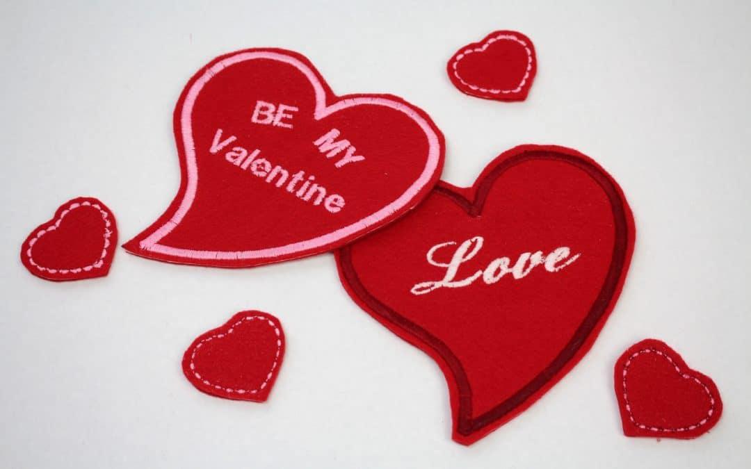 Angela Wolf Valentine Hearts