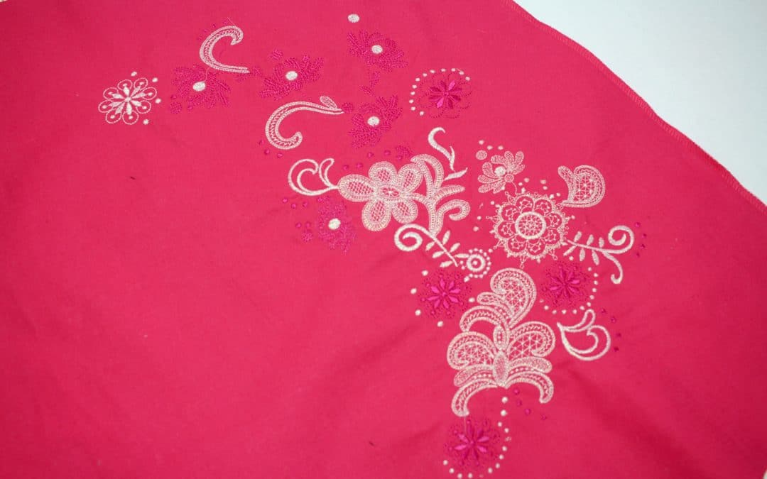 UPCYCLE ? DESIGN A SKIRT WITH EMBROIDERY