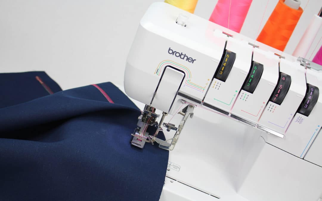 TUTORIAL: HOW TO THREAD THE BROTHER DOUBLE SIDED COVERSTITCH MACHINE CV3550
