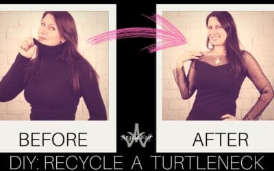 DIY RESTYLE PROJECT: TURTLENECK MAKE OVER