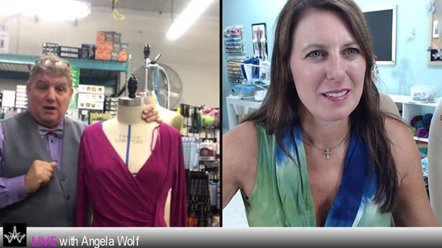 Episode 89 Behind the Scenes LIVE with Angela Wolf talking with Joe Vecchiarelli