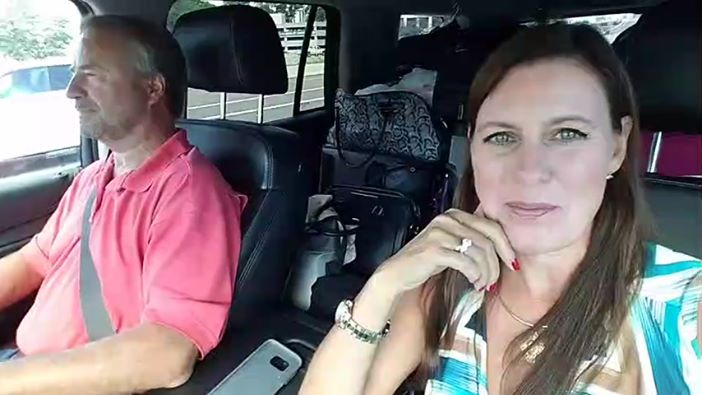 Episode 97 behind the scenes with Winn & Angela on the road