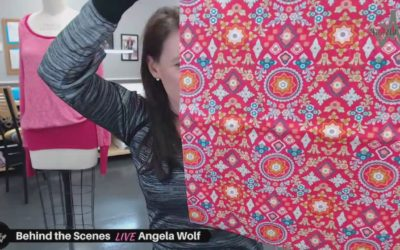 Episode 114 Behind the Scenes Vlog with Angela Wolf – quick updates on events and classes, wine bag tutorial, and watch party for youtube!