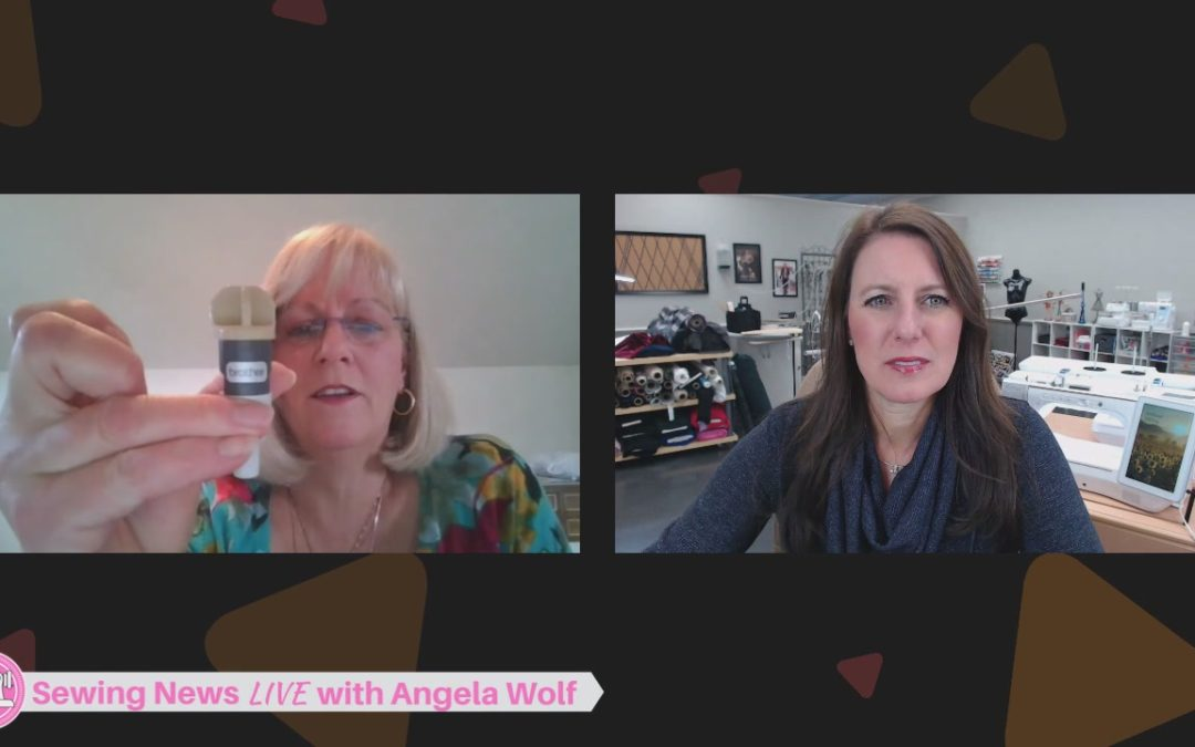 Episode 3 Sewing News LIVE with Angela Wolf