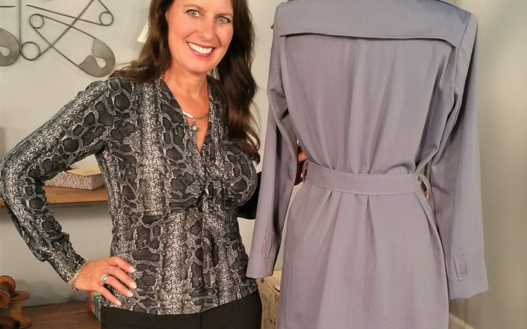 Chloe Trench Sew Along