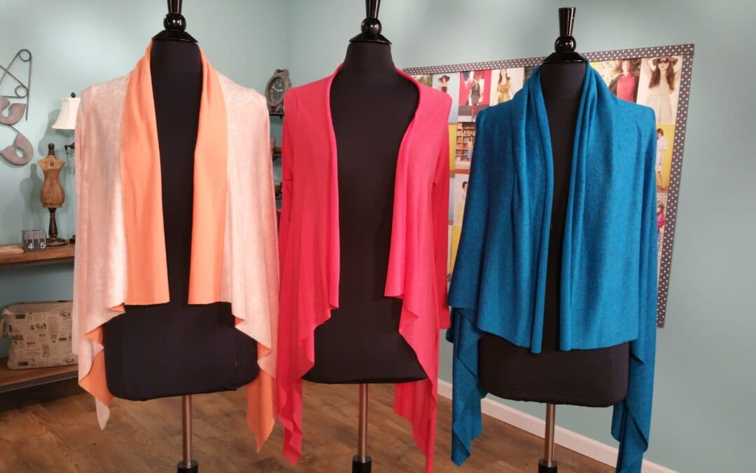 Drape a Square Sweater Jacket
