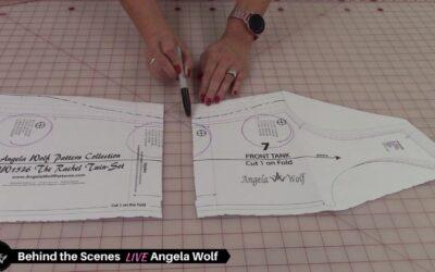 VLOG 217 Behind the Scenes ✂️ Rachel Twin-Set Part 1