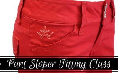 Pant Sloper Fitting Online Course